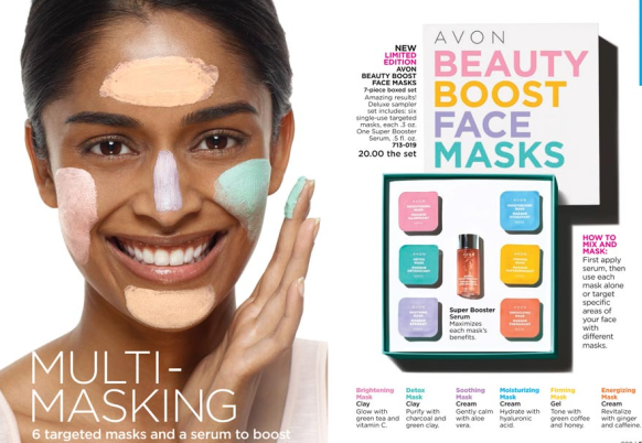 Anew Boost Mask Set