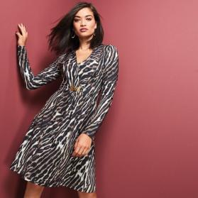 Everyday Animal-Print Dress