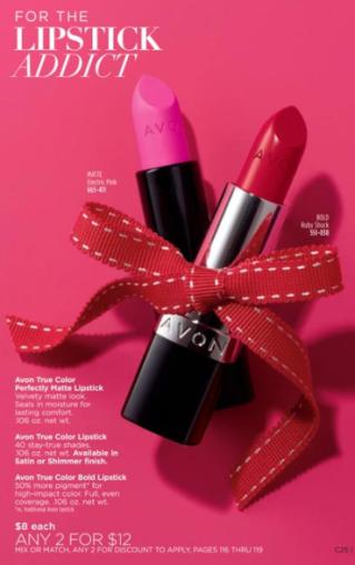 Lipstick 2 for 12